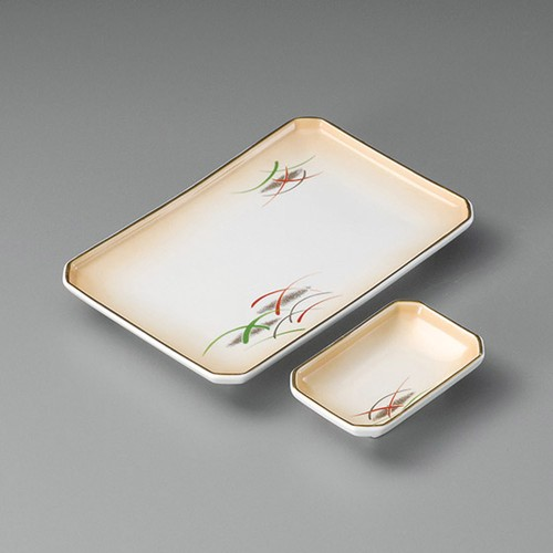 25006-080 加茂川四ツ切7.0焼物皿|業務用食器カタログ陶里30号