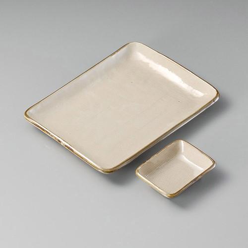 25012-410 益子風長角小皿|業務用食器カタログ陶里30号