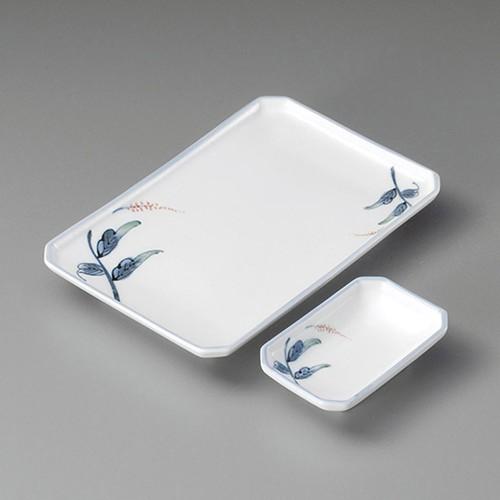 25023-230 やまと四ツ切焼物皿|業務用食器カタログ陶里30号