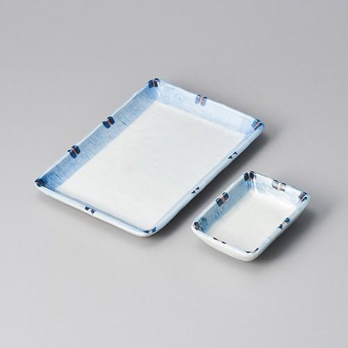 25214-050 はなやぎ長角千代口|業務用食器カタログ陶里30号