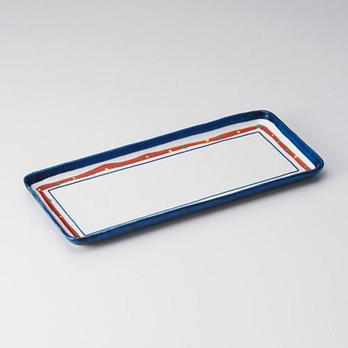 25503-320 新珠(あらたま)長角長皿|業務用食器カタログ陶里30号