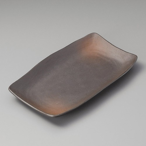 26304-170 備前ホッケ皿|業務用食器カタログ陶里30号