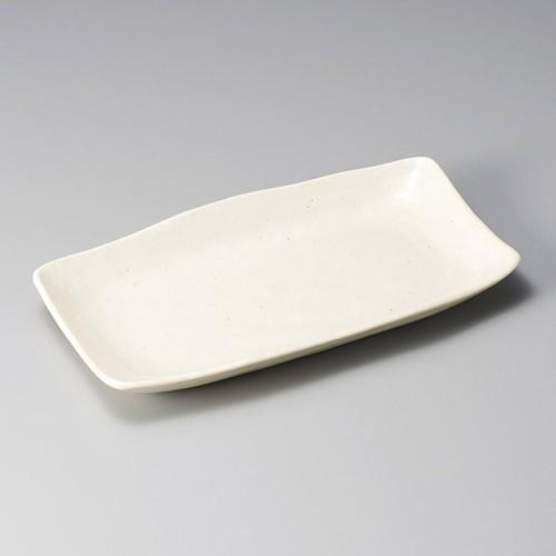 26307-020 白鉄砂ホッケ皿|業務用食器カタログ陶里30号