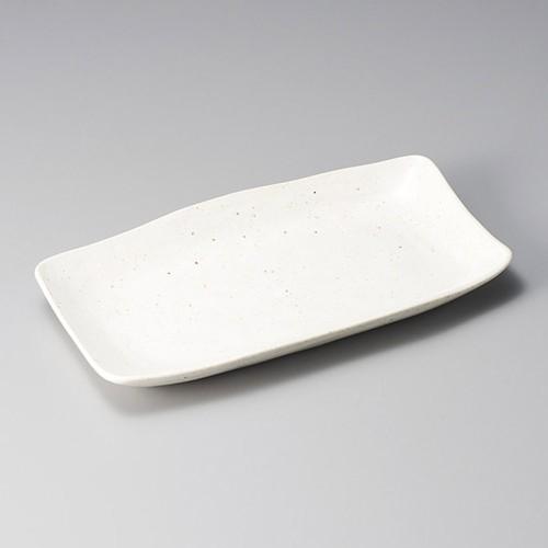 26308-330 ミスト 白ほっけ皿|業務用食器カタログ陶里30号
