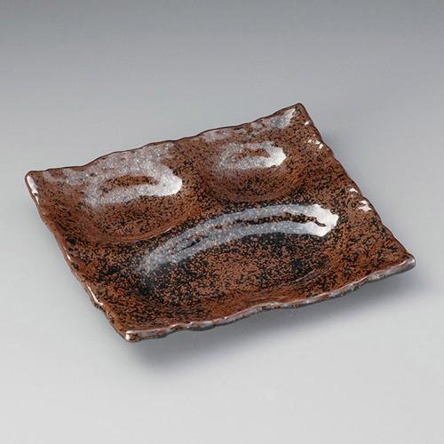 26401-160 桃山天目三品盛皿|業務用食器カタログ陶里30号
