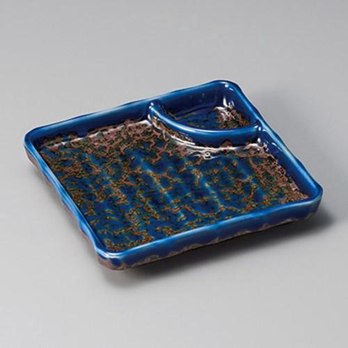 26407-460 いろり正角仕切皿|業務用食器カタログ陶里30号