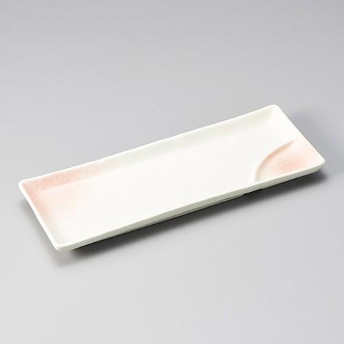 26601-300 桜吹ピンク仕切皿|業務用食器カタログ陶里30号