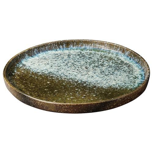 26903-430 ビードロ窯変15.0皿鉢|業務用食器カタログ陶里30号