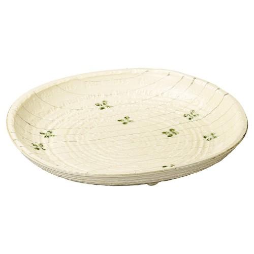 26906-050 クローバー13.0皿|業務用食器カタログ陶里30号