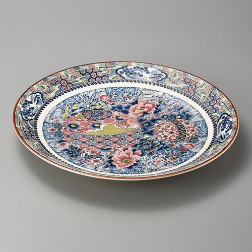 27402-350 手まり牡丹13.0大皿|業務用食器カタログ陶里30号