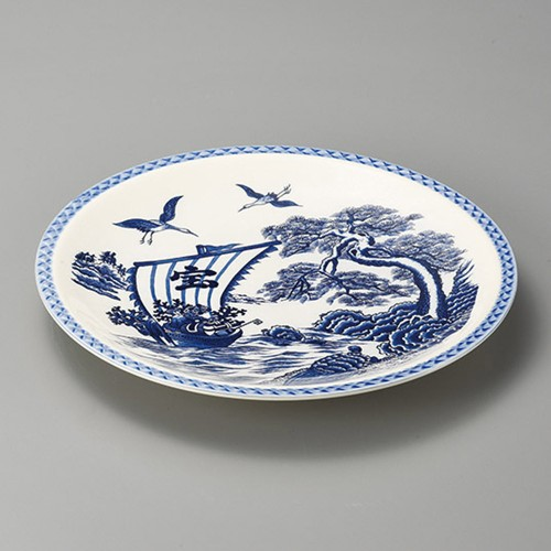 27407-480 宝舟10.0丸皿|業務用食器カタログ陶里30号
