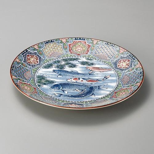 27410-350 五月鯉10.0皿|業務用食器カタログ陶里30号