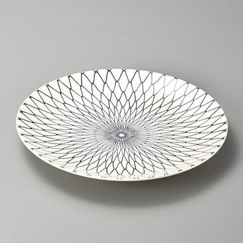 27413-350 網目12.0大皿|業務用食器カタログ陶里30号