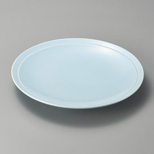 27422-480 青地11.0高台皿|業務用食器カタログ陶里30号