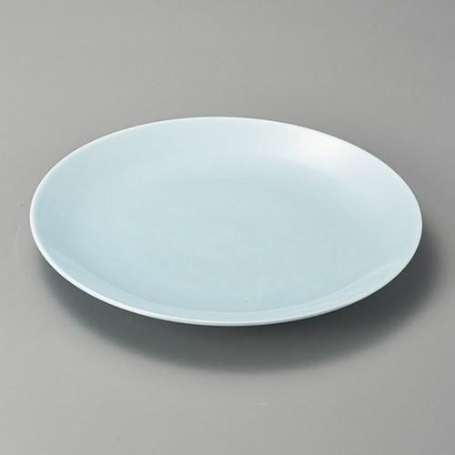 27425-480 青地10.0丸皿|業務用食器カタログ陶里30号