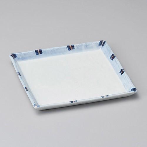 31510-050 はなやぎ正角8.0皿|業務用食器カタログ陶里30号