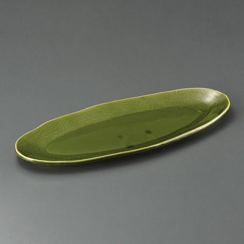 32412-460 オリベ16.0小判盛皿|業務用食器カタログ陶里30号