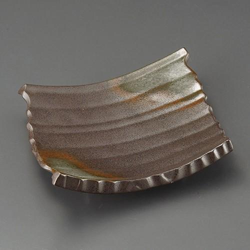 32503-300 備前瓦皿(大)|業務用食器カタログ陶里30号