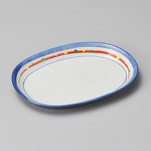 33615-320 新珠(あらたま)小判ケ-キ皿|業務用食器カタログ陶里30号