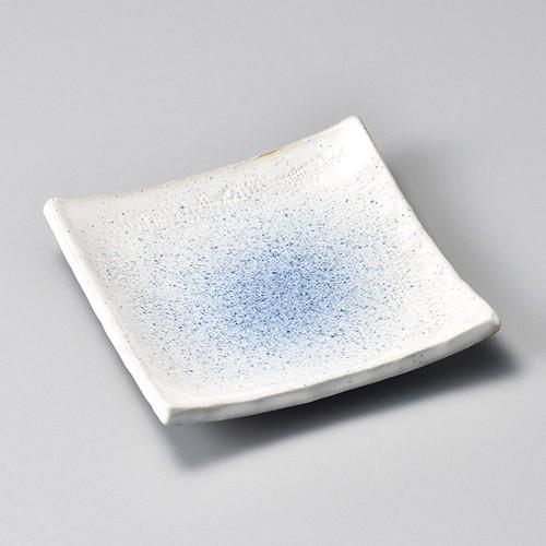 34021-150 瑠璃ウノフ5.0正角皿|業務用食器カタログ陶里30号
