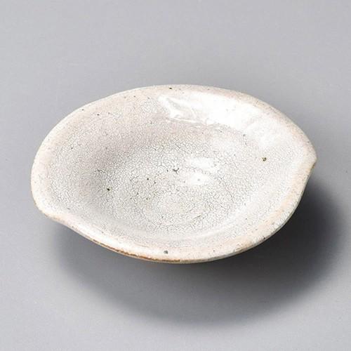 34406-080 サビ梅花皮ひねり小皿|業務用食器カタログ陶里30号