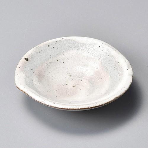34407-080 新粉引ひねり小皿|業務用食器カタログ陶里30号