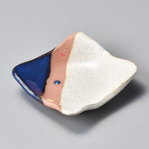 34414-120 塗り分け角小皿|業務用食器カタログ陶里30号