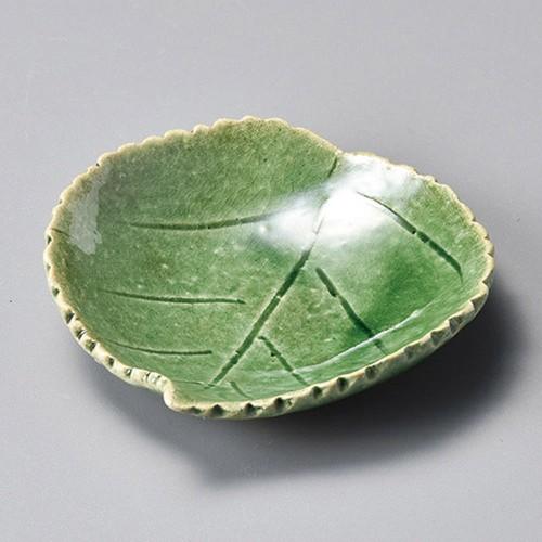 34419-250 織部木の葉皿|業務用食器カタログ陶里30号