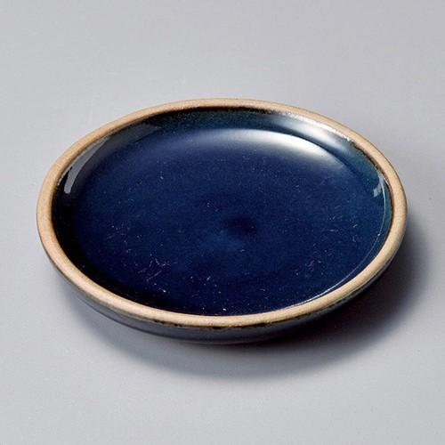 34423-250 ナス紺豆皿|業務用食器カタログ陶里30号