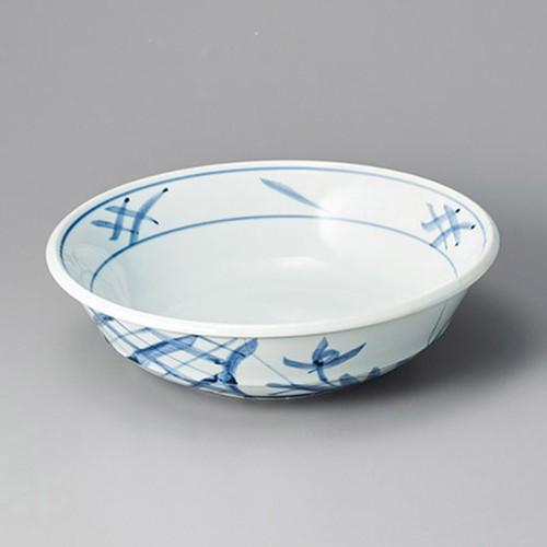36213-180 手描間取菊9.0丸鉢|業務用食器カタログ陶里30号