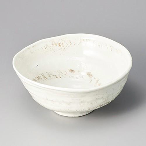 36917-300 粉引風車7.0ラ-メン鉢|業務用食器カタログ陶里30号