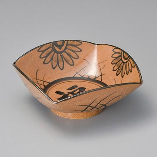 37307-180 絵唐津福紋 6.5鉢|業務用食器カタログ陶里30号