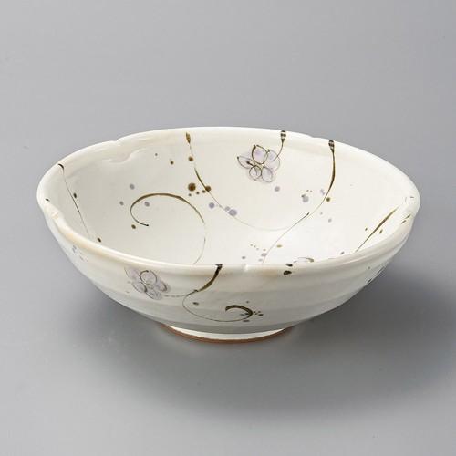 37915-280 粉引小花盛鉢|業務用食器カタログ陶里30号