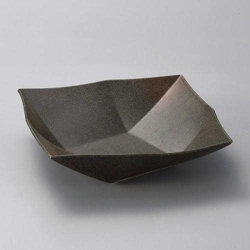 37917-070 備前風オリメ8.0盛鉢|業務用食器カタログ陶里30号