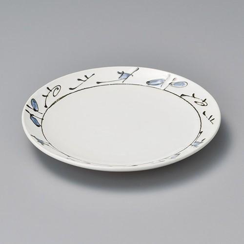 38409-410 エジプト丸8.0皿|業務用食器カタログ陶里30号