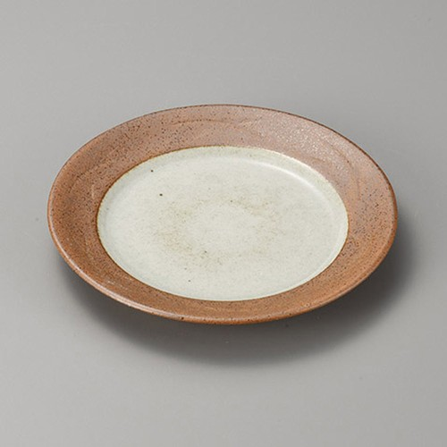 38411-160 松葉志野7.5皿|業務用食器カタログ陶里30号