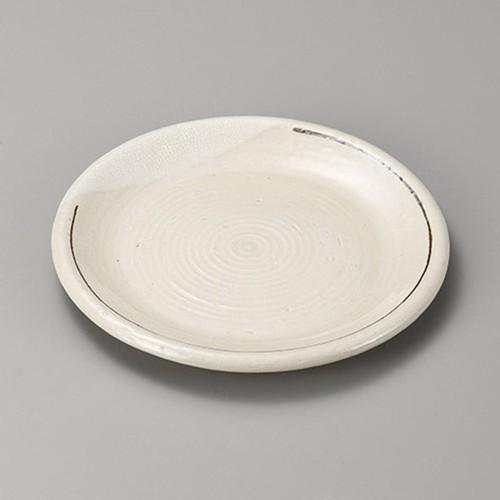 38416-410 カイラギサビライン丸8.0皿|業務用食器カタログ陶里30号