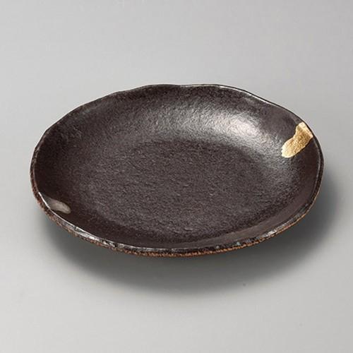 38417-320 南蛮金銀7.0丸皿|業務用食器カタログ陶里30号