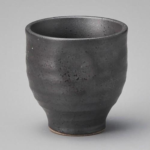 39026-200 黒釉ぐい呑|業務用食器カタログ陶里30号