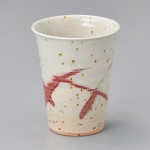 40502-430 赤絵フリーカップ 業務用食器カタログ陶里30号