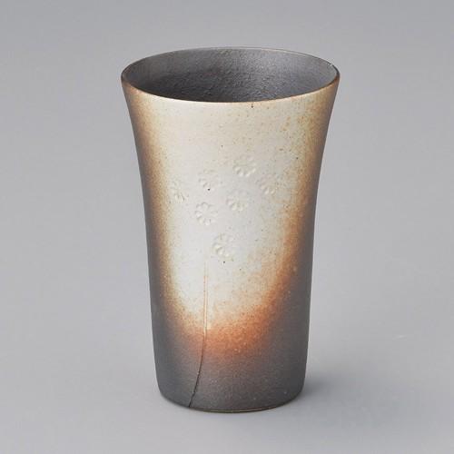 40514-430 白ぼかし小花フリーカップ 業務用食器カタログ陶里30号