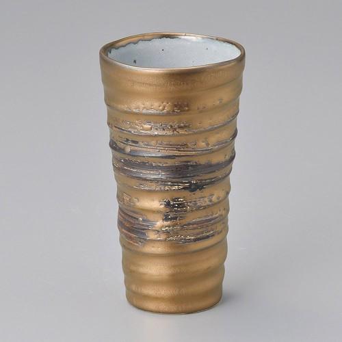 40517-020 ゴールドビールカップ 業務用食器カタログ陶里30号