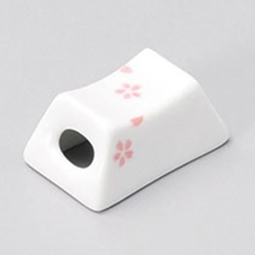 41405-450 小桜(桃)筐箸置|業務用食器カタログ陶里30号