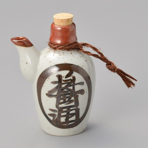 42016-100 徳利型正油入|業務用食器カタログ陶里30号