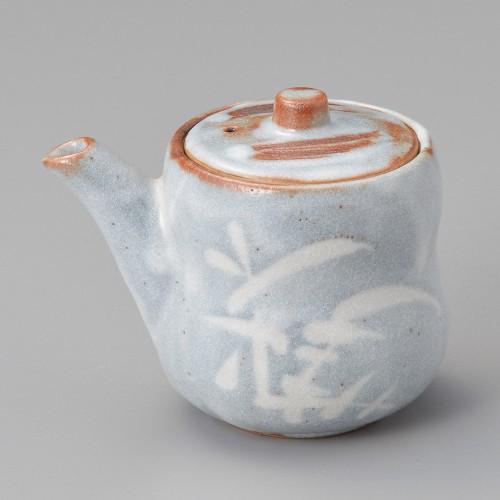 42616-180 銀志野芦(土物)醤油差し(大)|業務用食器カタログ陶里30号
