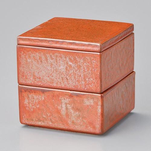 42902-460 鉄赤二段重|業務用食器カタログ陶里30号