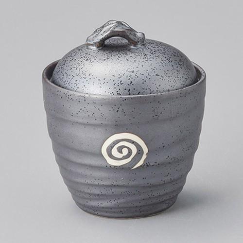 42921-030 鉄砂ウズ蓋付いっぷく碗|業務用食器カタログ陶里30号