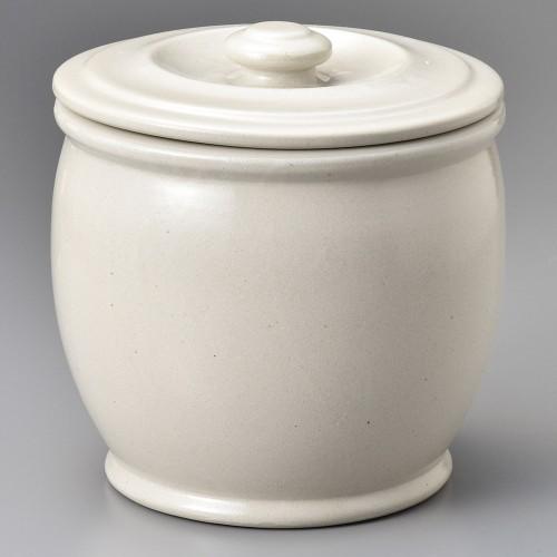 43001-100 オーガニックホワイト5升カメ|業務用食器カタログ陶里30号