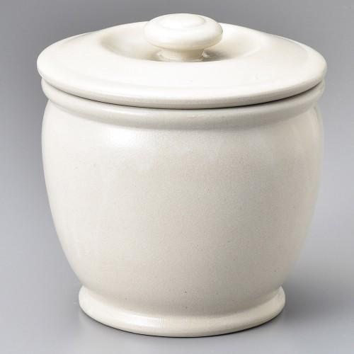 43003-100 オーガニックホワイト2升カメ|業務用食器カタログ陶里30号