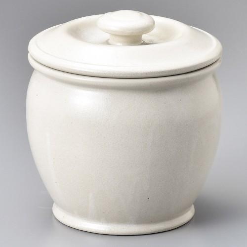 43004-100 オーガニックホワイト1.5升カメ|業務用食器カタログ陶里30号
